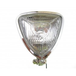 LAMPA PRZEDNIA LIGHTBAR TRÓJKĄTNA PŁASKA - H3 CE