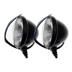 REFLEKTOR LIGHTBAR LAMPA PRZÓD 4,5 CALA CZARNY MAT
