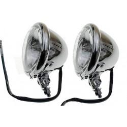 REFLEKTOR LIGHTBAR LAMPA PRZÓD 4,5 CALA CHROM E11