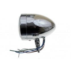 REFLEKTOR LIGHTBAR LAMPA PRZÓD 4 CALE CHROM E9