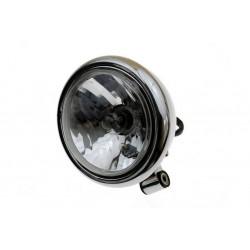 LAMPA PRZEDNIA REFLEKTOR MOCOWANIE BOCZNE CHROM E4
