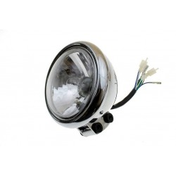 LAMPA PRZEDNIA REFLEKTOR MOCOWANIE DOLNE CHROM E4