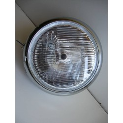REFLEKTOR LAMPA PRZOD CHROM YAMAHA DRAGSTAR 220 mm