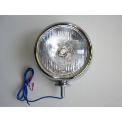 LAMPA PRZEDNIA PRZOD METAL - LIGHTBAR 4 1/2 CHROM