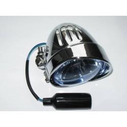 LAMPA PRZEDNIA LIGHTBAR TŁOCZONA CHROMOWANA - BLUE
