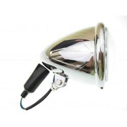 LIGHTBARY LAMPA PRZEDNIA 5,5 CALA STOZEK H4 HARLEY