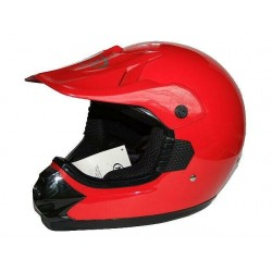 KASK CROSS ENDURO ATV QUAD MAX CZERWONY RED
