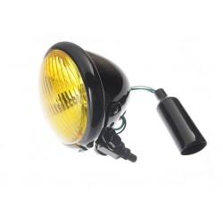 LIGHTBAR LAMPA PRZEDNIA CZARNA ŻÓŁTE SZKŁO 4,5 CAL