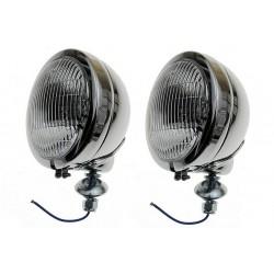 REFLEKTOR LIGHTBAR LAMPA PRZÓD 4,5 CALA CHROM