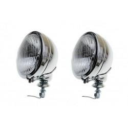 REFLEKTOR LIGHTBARY LAMPA PRZÓD 4,5 CALA CHROM