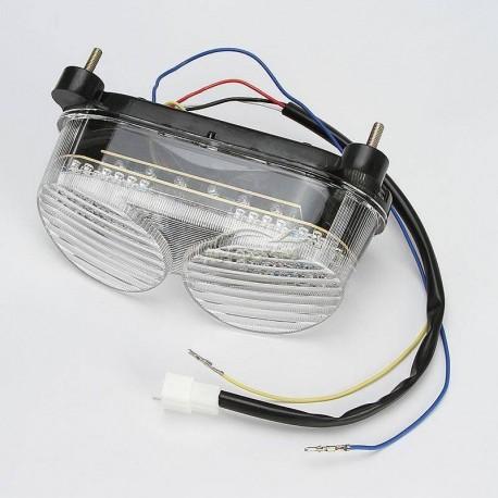 LAMPA TYLNA LED Z KIERUNKAMI KAWASAKI ZX6R ZX9R