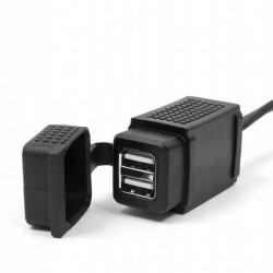 ADAPTER GNIAZDO ZAPALNICZKI DIN BMW NA USB