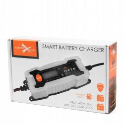 Inteligentna ładowarka akumulatorów 6V 12V