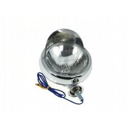 LAMPA LIGHTBAR CHROMOWANY Z DASZKIEM