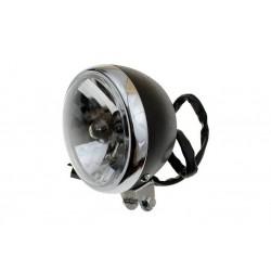 LAMPA PRZEDNIA REFLEKTOR CZARNY MOCOWANIE DOLNE E4