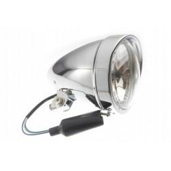 REFLEKTOR LAMPA PRZEDNIA 5,5 CALA STOŻEK - CHROM