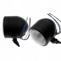 REFLEKTOR LIGHTBAR LAMPA PRZOD 4 CALE CZARNY MATT