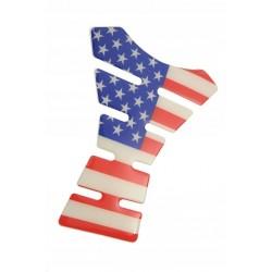 TANKPAD NAKLEJKA NA BAK - FLAGA USA AMERYKI