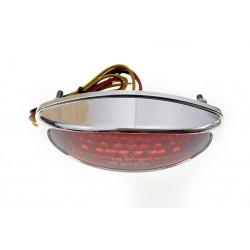TYLNA LAMPA TYL LED STOP CHROMOWANA CE