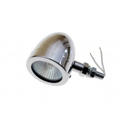 MINI REFLEKTOR LAMPA LIGHTBAR HALOGEN CHROMOWANY