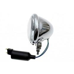 LAMPA LAMPY LIGHTBAR CHROMOWANA H-4 KOMPLET