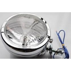 LAMPA LIGHTBAR CHROMOWANA 4,5 CALA METALOWA